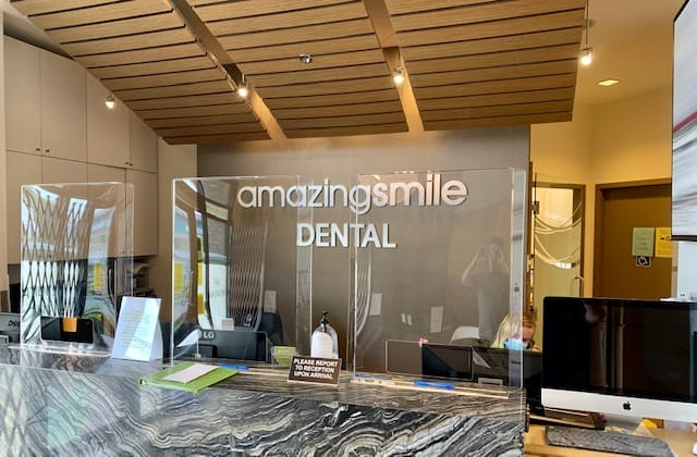 Amazing Smile Dental Langley front desk